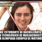 #LadyMatemáticas originaria de Jalisco, ganó el oro en la Olimpiada Europea Femenil