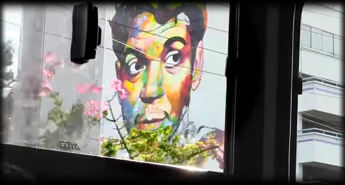 As se pint el mural de cantinflas en guadalajara soy for El mural guadalajara jalisco