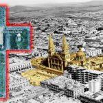 La Cruz de Plazas bendice el centro de Guadalajara