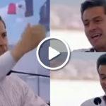 Bella Jalisciense le da un beso en la boca a Peña Nieto