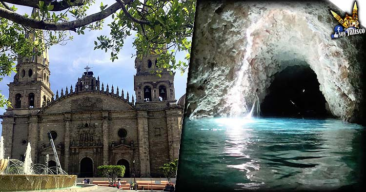 El río que pasa por debajo de la Catedral de Guadalajara